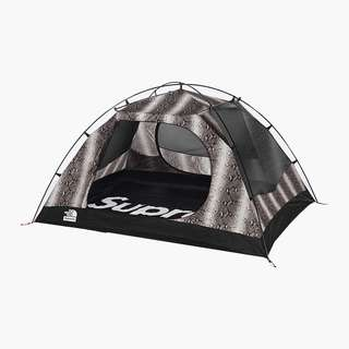 Supreme X North Face Snakeskin Stormbreak 3 Tent⛺️⚫️
