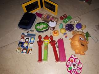 Take all in pic pez containers etc