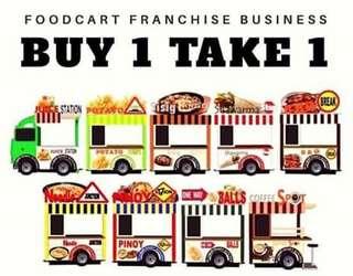Food caravan kiosk