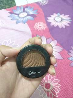 Eyeshadow flormar red bronze