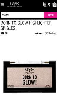 NYX Highlighter Murah