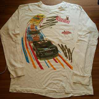 Vintage 1992 nascar t shirt