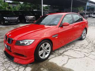 SAMBUNG BAYAR/CONTINUE LOAN  BMW 320 E90  YEAR 2006 MONTHLY RM 1740 BALANCE 2 YEARS + ROADTAX VALID PUSH START BUTTON  DP KLIK wasap.my/60133524312/e90