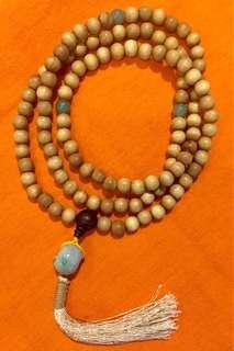 印尼老山檀香配缅甸玉 - Indonesia sandal wood with Myanmar's jade