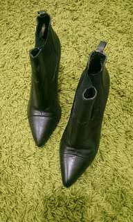 #ONLINESALE MANGO Ankle heels boots