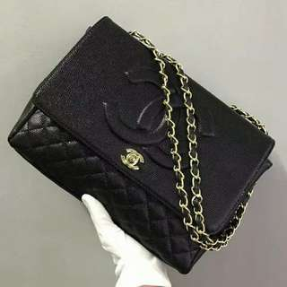 Chanel Timeless Shoulder Bag with GHW