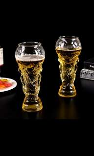 🚚 2018 CREATIVE HERCULES  FOOTBALL GLASS BEER CUP WORLD CUP