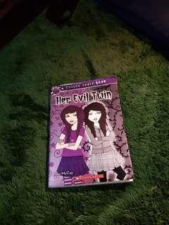Buku Her evil twin FULL ENGLISH