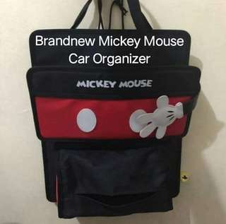 Brand New Mickey Mouse Car Organizer