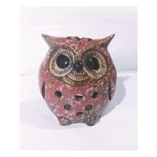 🦉 Handpainted Ceramic Owl