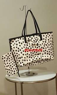 MARC BY MARC JACOBS SHOPPING BAG WITH WRISTLET