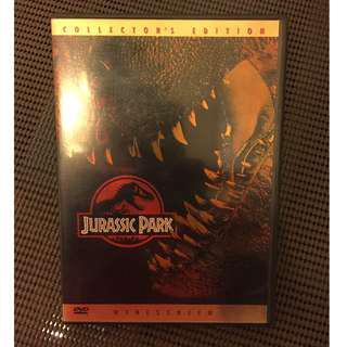 放 JURASSIC PARK 珠羅紀公園 DVD