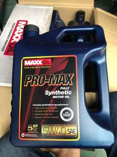Engine Oil Maxxoil