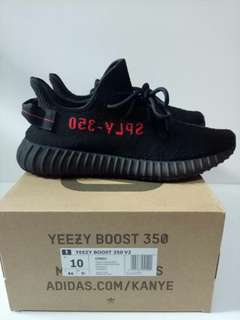 ADIDAS YEEZY BOOST 350 V2 INFANT BRED KIDS PERFECT QUALITY