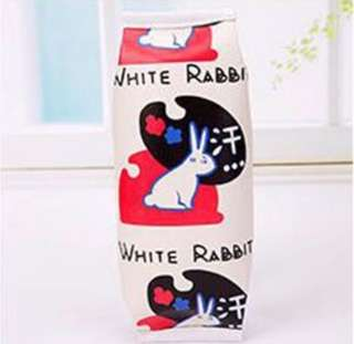 🐇BN INSTOCK Cute White Rabbit Candy Pencil Case Bag