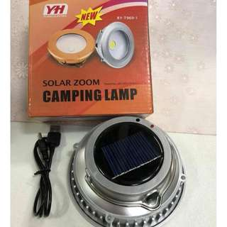 solar zoom camping lamp ry-t969-1