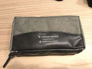 Cathay Pacific Business Class Travel kits. 國泰航空商務旅行套裝