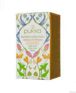 🚚 英國Pukka Herbal Collection 100%有機草本系列茶(不含咖啡因)20包