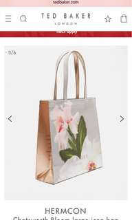 Ted Baker Chatsworth Bloom large icon bag
