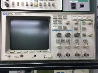 HP 示波器 HEWLETT  PACKARD 54601A OSCILLOSCOPE 4 CHANNEL 100 MHZ