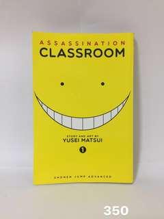 Assassination Classroom Vol. 1