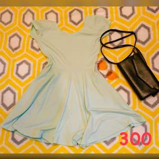 PRELOVED MINT GREEN DRESS