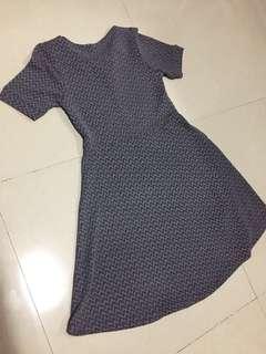 Greyish dress