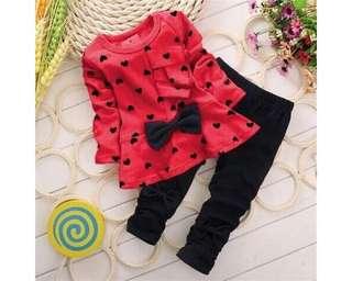 Baju Anak Kd St Tiffanny Red