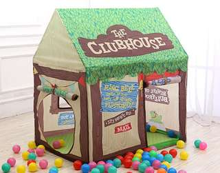 *In Stock* BN Kids Jungle Forest Tree Clubhouse Play House Tent for Boy / Girls ~ Green