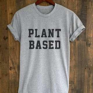 🚚 Plant-Based-T-Shirt-Women-Cute-Vegan-t-shirt-Women-Funny-Short-Sleeve-tshirt-summer-style.jpg_640x640
