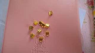 5mm mini golden clip (for DIY)