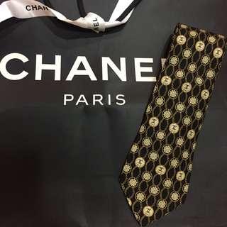 🚚 近全新Chanel 香奈兒領帶