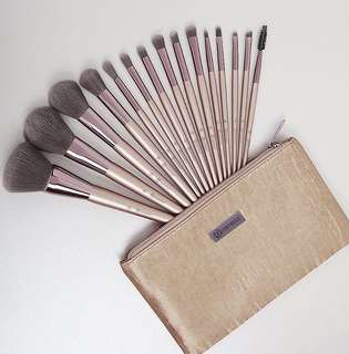 🚚 15 Pieces Lavish Elegance Brush Set