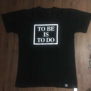 FPAR To Be Is To Do Black tee