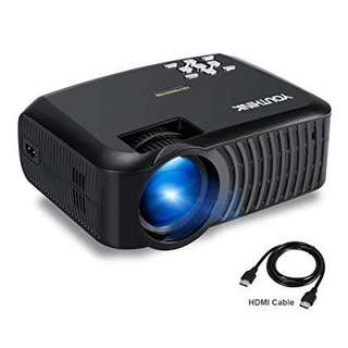 DEAL!!Youthink Portable LED Projector!! HD