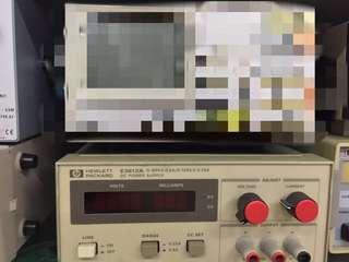 HP 惠普直流電源 HEWLETT E3612a Packard dc power supply 0-60v,0-0.5A/0-120v,0-0.25A