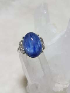 ⭐Ring (Kyanite*蓝晶石)