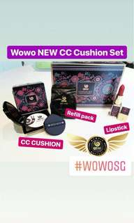 🚚 Wowo Foundation base + lipstick set