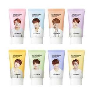 The saem x SEVENTEEN Tone up Suncream