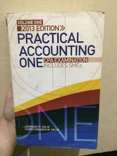 Practical Accounting One Volume One(2013) Valix