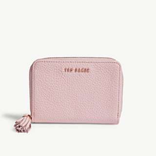 TED BAKER Sabel grained leather small purse
