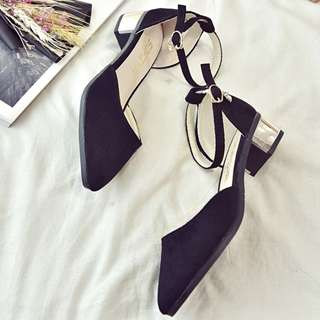 🍬Casual Ankle Strap Heels