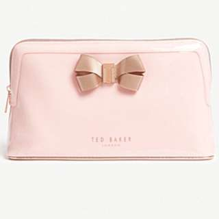 TED BAKER Libbert bow wash bag