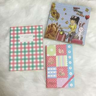 Assorted notebook