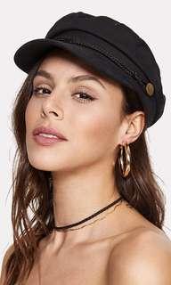 Black Baker Boy Hat