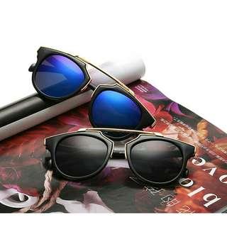Cat eye retro sunglasses chf