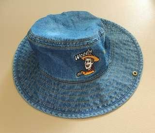 全新出口 Woody 胡迪牛仔布漁夫帽 ##