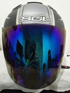 🚚 SOL 27S安全帽 天狼星