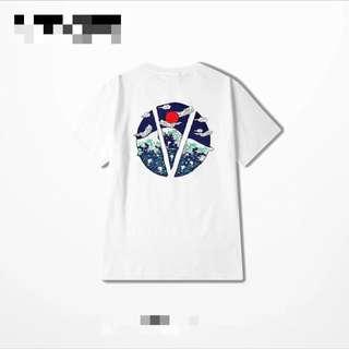 japanese graphic logo tee harajuku cotton shirt