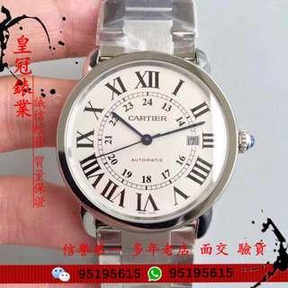 面交 驗貨 Cartier Ronde Solo De Cartier W6701011  9015機芯